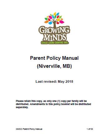 Parent Policy Manual thumbnail